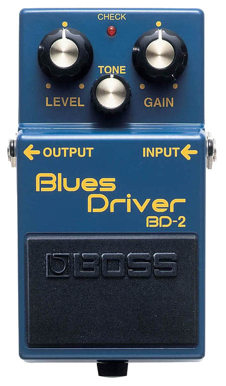 Педаль эффектов Boss BD-2 Blues Driver