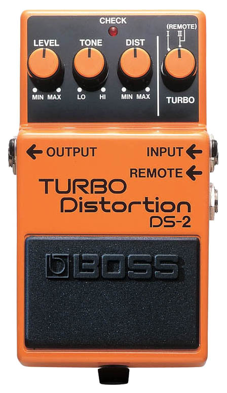 Педаль эффектов Boss DS-2 Turbo Distortion