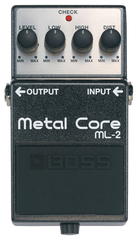 Педаль эффектов Boss ML-2 Metal Core