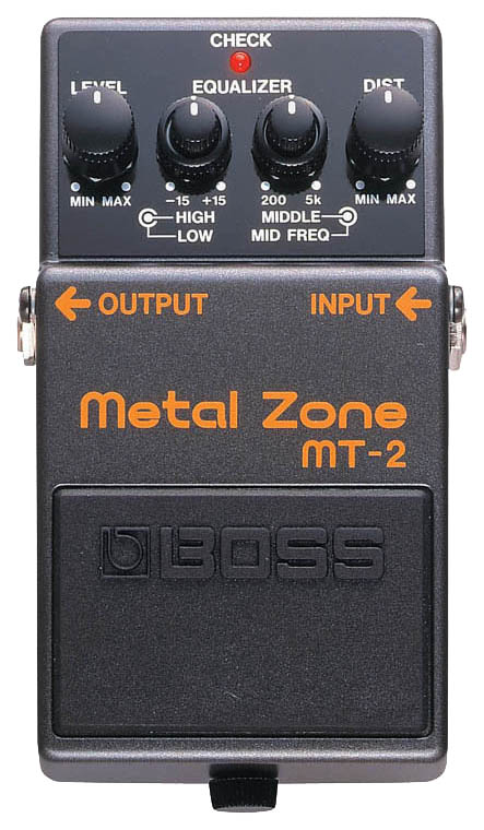 Педаль эффектов Boss MT-2 Metal  Zone
