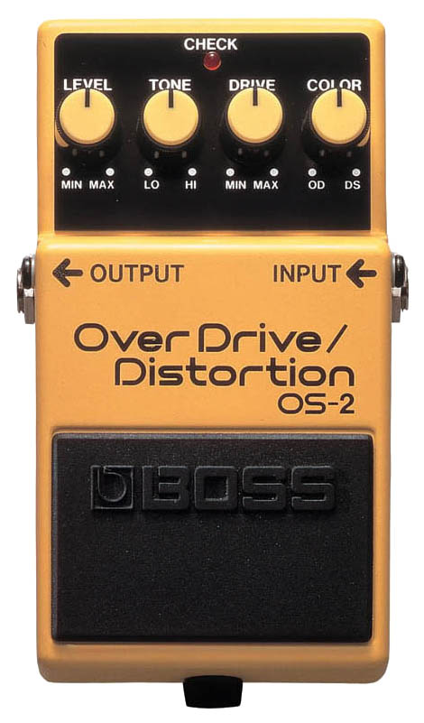 Педаль эффектов Boss OS-2 OverDrive/Distortion
