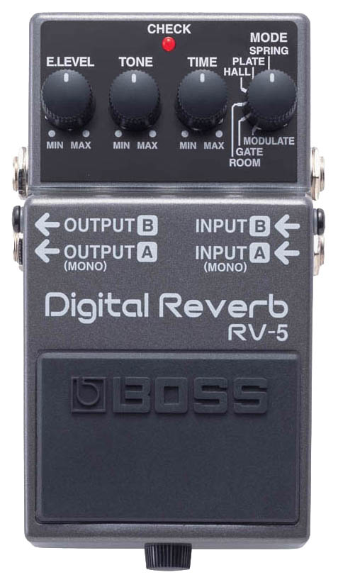 Педаль эффектов Boss RV-5 Digital Reverb/Delay