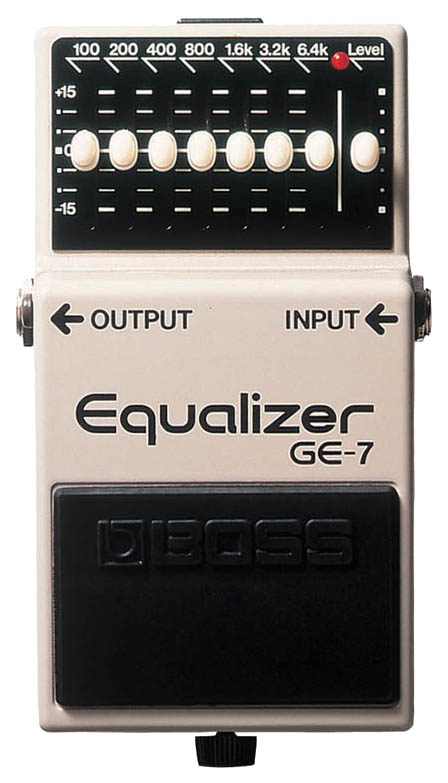 Педаль эффектов Boss GE-7 Equalizer