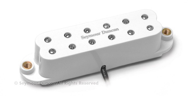 Звукосниматель Seymour Duncan 11205-22-W SL59-1b Little '59 Strat White