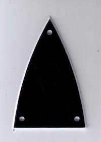 Hosco DM-802.  Крышка анкера, Black 2 Ply.