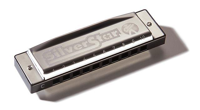 Губная гармошка Hohner Silver Star 504/20 C
