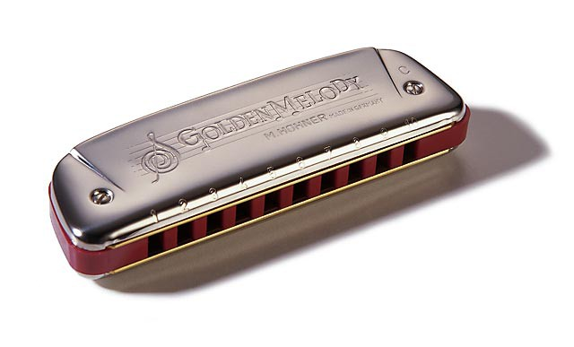 Губная гармошка Hohner Golden Melody 542/20 A