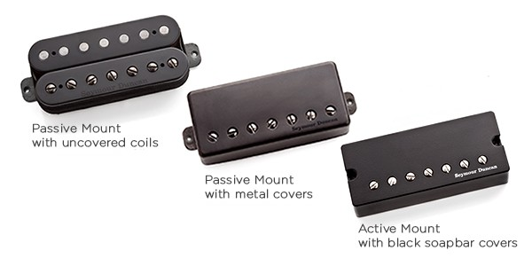 Звукосниматель Seymour Duncan 11107-21-7Str SH-6b Duncan Distortion Blk 7-String