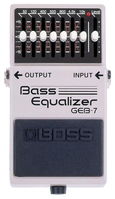 Педаль эффектов Boss GEВ-7 Bass Equalizer