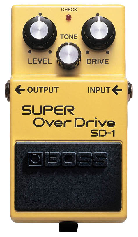 Педаль эффектов Boss SD-1 Super OverDrive