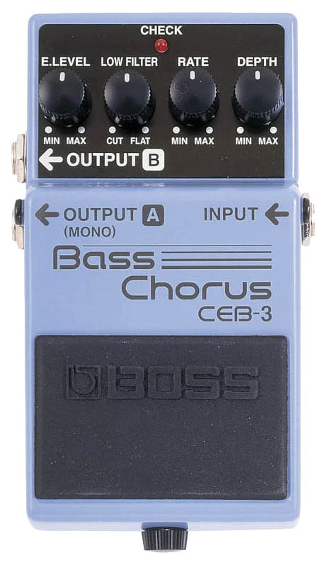 Педаль эффектов Boss CEB-3 Bass Chorus