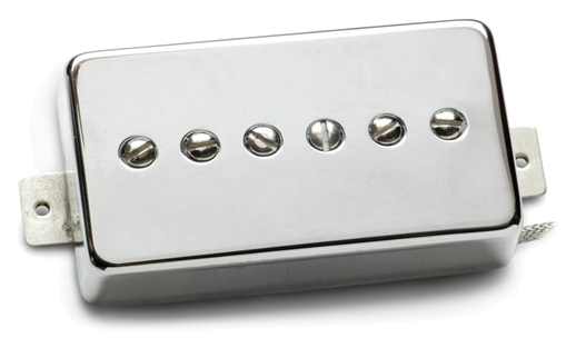 Звукосниматель Seymour Duncan 11302-15-NC SPH90-1N Phat Cat Nickel Cover