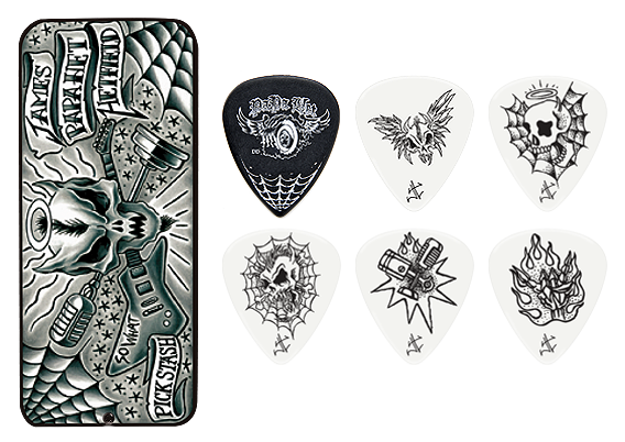 Набор медиаторов Dunlop James Hetfield (.88) JPH01T088