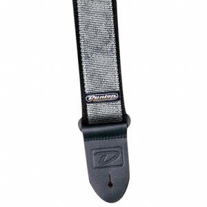 Ремень Dunlop D38-18SV STRAP GLAM SILVER
