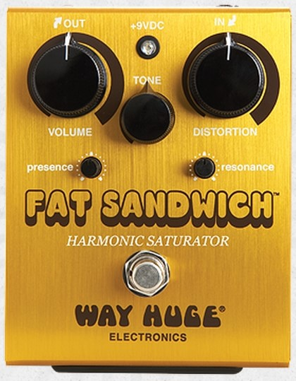 Педаль эффектов Dunlop WHE301 FAT SANDWICH DIST Way Huge