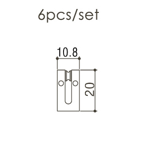 Набор сёдел для бриджа Gotoh SS108C
