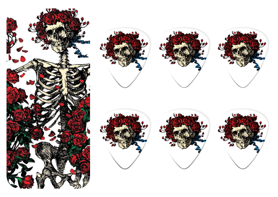Набор медиаторов Dunlop Grateful Dead - Rosemary (Medium) GDPT01M