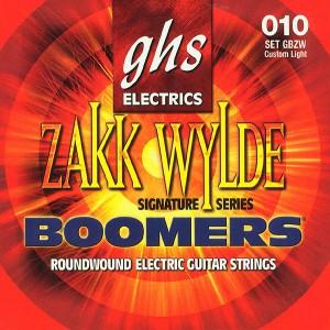 Струны для электрогитары GHS GBZW 10-60