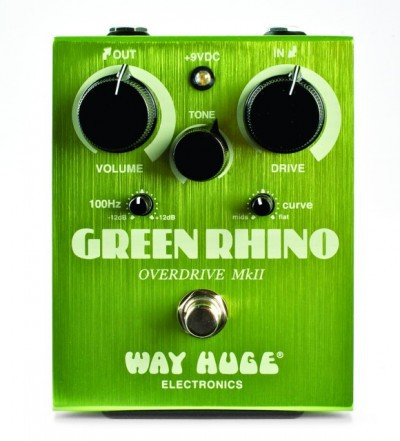 Педаль эффектов Dunlop WHE202 GREEN RHINO Way Huge