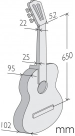 Гитара фламенко Alhambra 4 F
