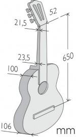 Гитара классичеcкая Alhambra 9 P