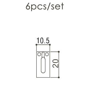 Набор сёдел для бриджа Gotoh S21C