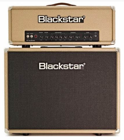 Blackstar HT club 50 и кабинет HTV - 212 Bronco Tan