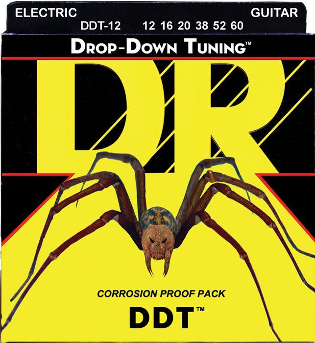 Струны для электрогитары 12-60 DR DDT-12 Drop-Down Tuning