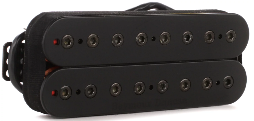 Seymour Duncan M Holcomb Omega Bridge BLK 8str 11102-62-B8