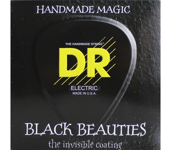 Струны для электрогитары DR BKE-10 BLACK BEAUTIES™ 10-46