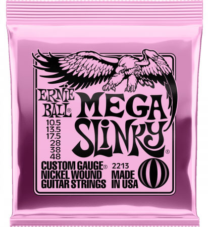 Струны для электрогитары Ernie Ball 2213 Nickel Wound Mega (10.5-13.5-17.5-28-38-48)