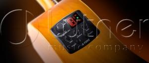 Гитарный эквалайзер цифровой 3-полосный  с тюнером и фэйзер эффектом Cherub GT-2