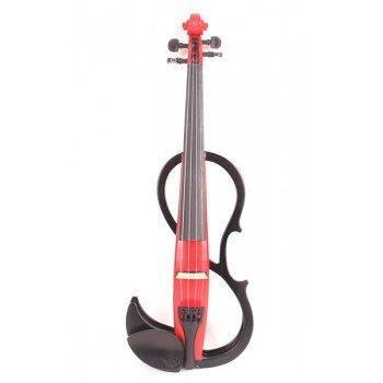 Электроскрипка размером 4/4 Mirra VE-420RBK (чехол и смычок в комплекте)