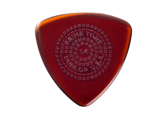 Медиатор Dunlop 512P  PRIMETONE triangle W/GRIP