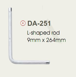 L-образный металлический стержень Peace DA-251
