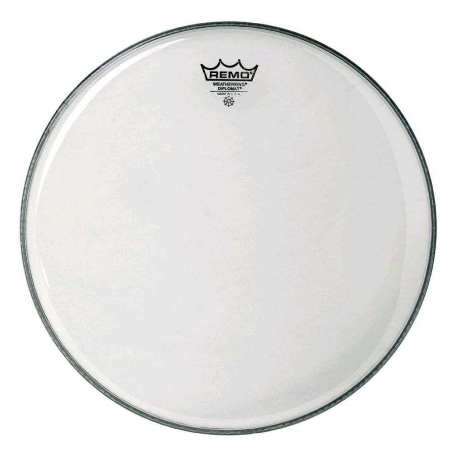 Пластик Remo BD-0314-00 Diplomat 14'' clear