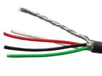 Hosco CBL-4CW100. Экранированный провод.