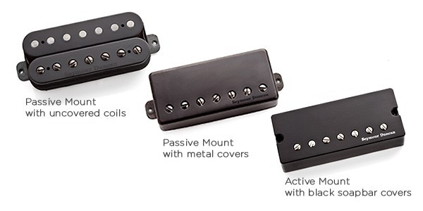 Звукосниматель Seymour Duncan 11102-21 -P-Blk-7Str Distortion Brg Pmt, Blk