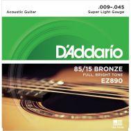 Струны для акустической гитары D'Addario EZ890
