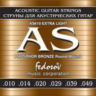 Струны для акустической гитары Fedosov AS410