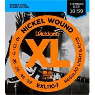 Струны для электрогитары D'Addario EXL110-7