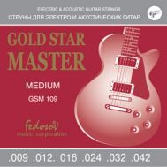 Струны для электрогитары Fedosov GSM 109