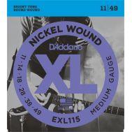 Струны для электрогитары D'Addario EXL115