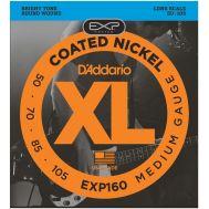 Струны для бас гитар D'Addario EXP160