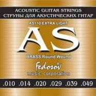 Струны для акустической гитары Fedosov AS110