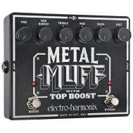 Педаль эффектов Electro-Harmonix Metal Muff w/Top Boost