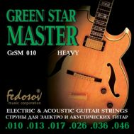 Струны для электрогитары Fedosov GrSM010