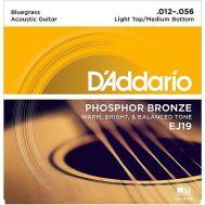 Струны для акустической гитары D'Addario EJ19