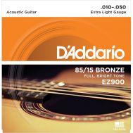 Струны для акустической гитары D'Addario EZ900