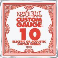 Струна для электрогитары Ernie Ball 1010 0.10